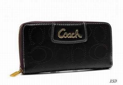portefeuille coach type coach portefeuille fictif portefeuille femme rfid. Black Bedroom Furniture Sets. Home Design Ideas