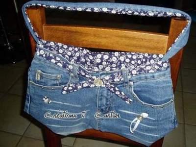 Sac jean le temps des cerises sac jean paul gaultier neuf comment faire sac avec jean - Faire un sac avec un jean ...