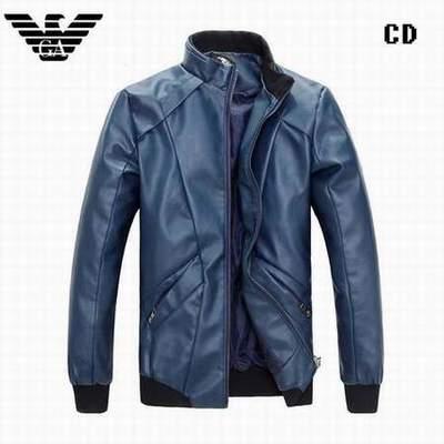 b489027320f veste armani noir pas chere